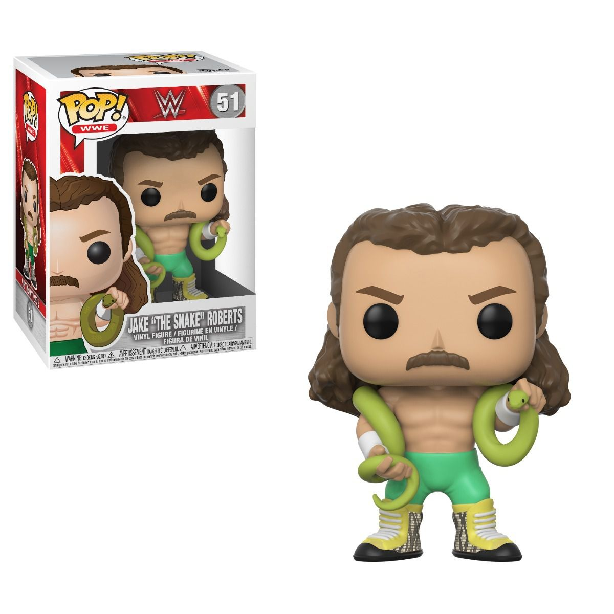 Funko Pop WWE Jake The Snake Roberts 51