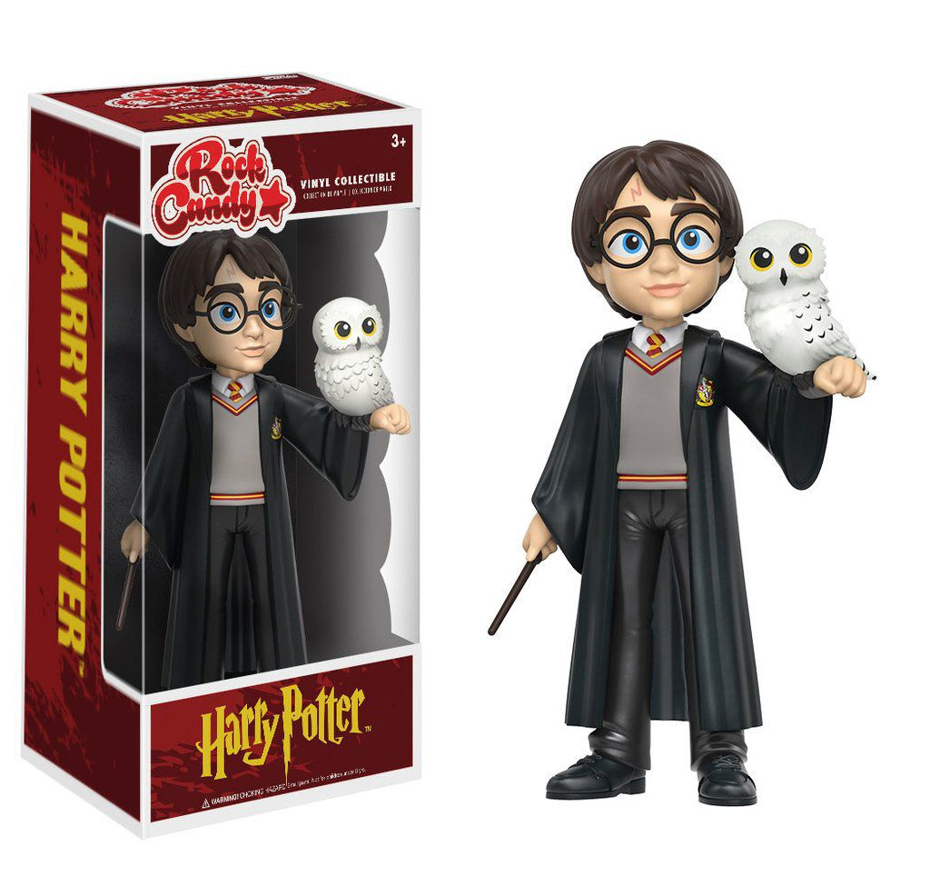 Funko Rock Candy Harry Potter com Coruja