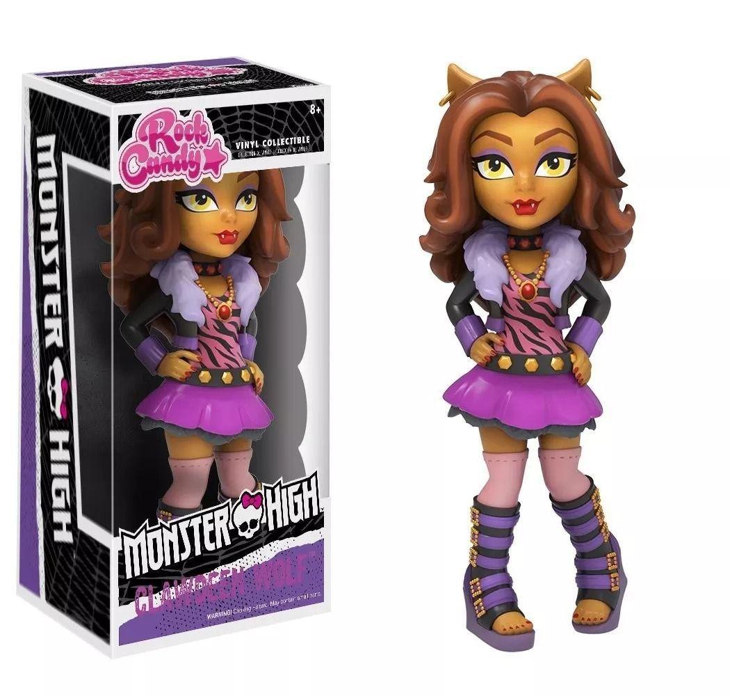 Funko Rock Candy Monster High - Clawdeen Wolf