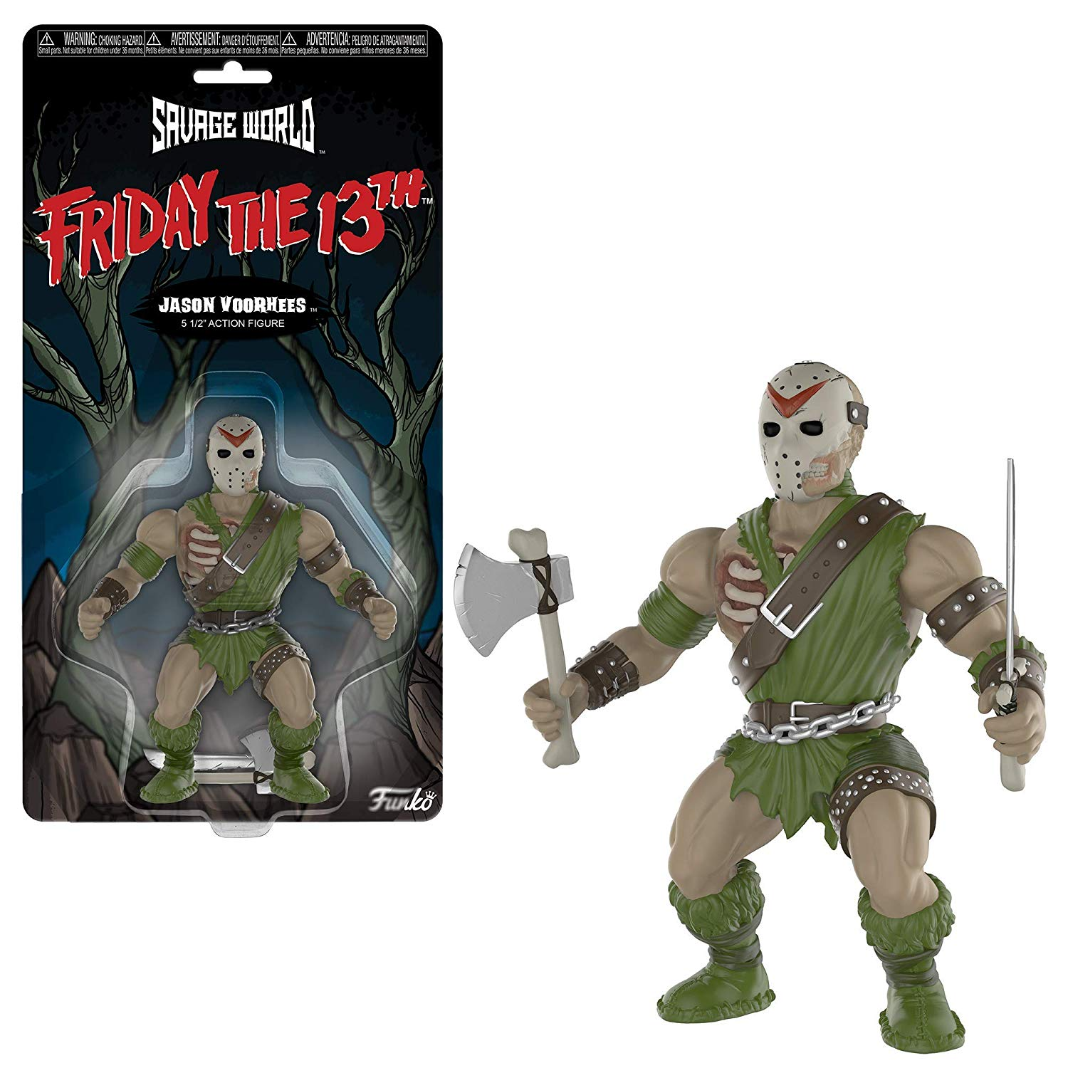 Funko Savage World Sexta Feira 13 Jason Action Figure
