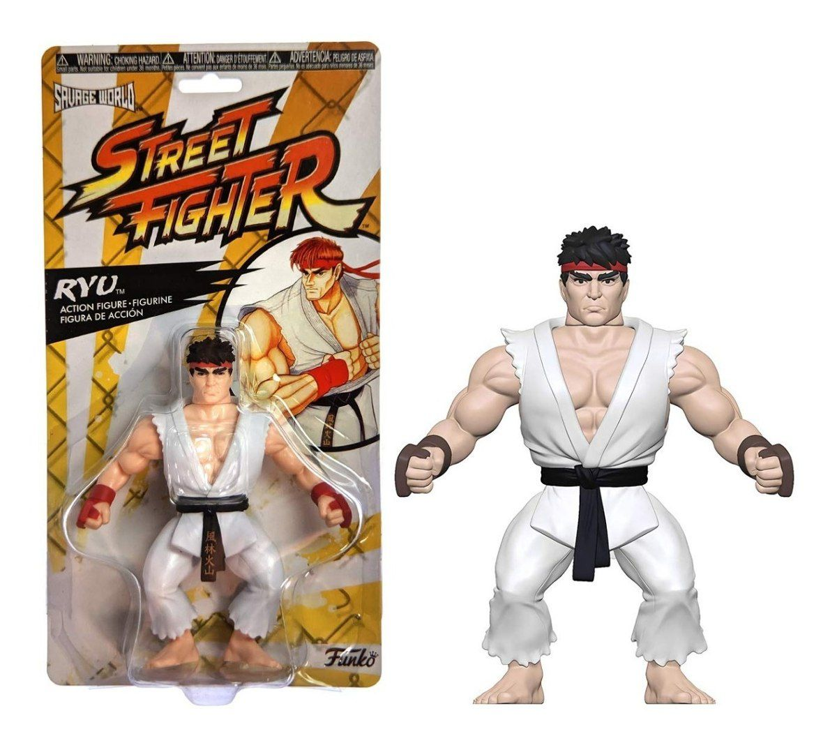 Funko Savage World - Street Fighter Ryu