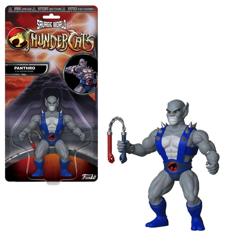 Funko Savage World - Thundercats - Panthro Oficial Licenciado