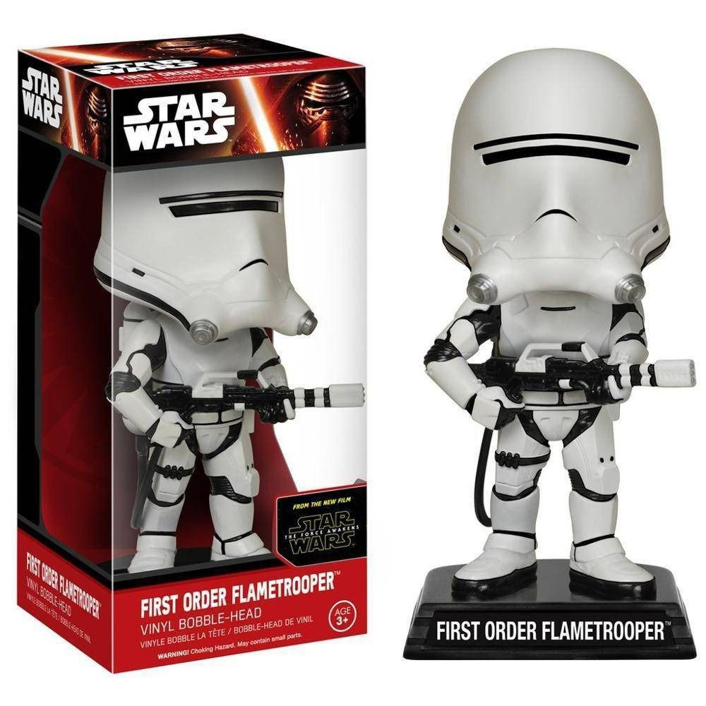 Funko Wacky Wobbler Star Wars First Order Flametrooper