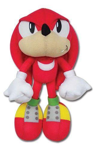 Great Eastern Pelúcia Sonic Classic Knuckles Oficial Licenciado