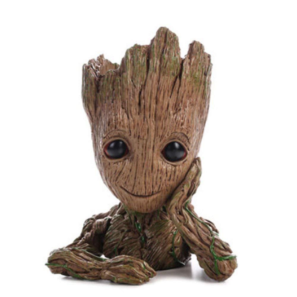 Groot Guardians of The Galaxy Vaso de Flor Baby Cute Oficial Licenciado