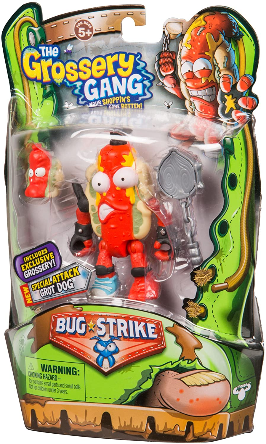 Grossery Gang The S4 Bug Strike Action Figure - Grot Dog
