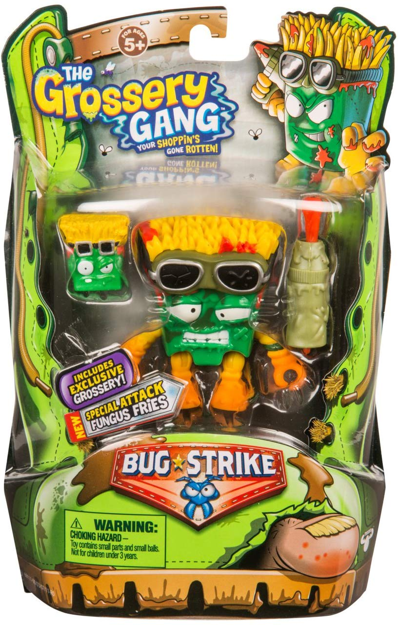 Grossery Gang The S4 Bug Strike Action Figures Fungus Fries