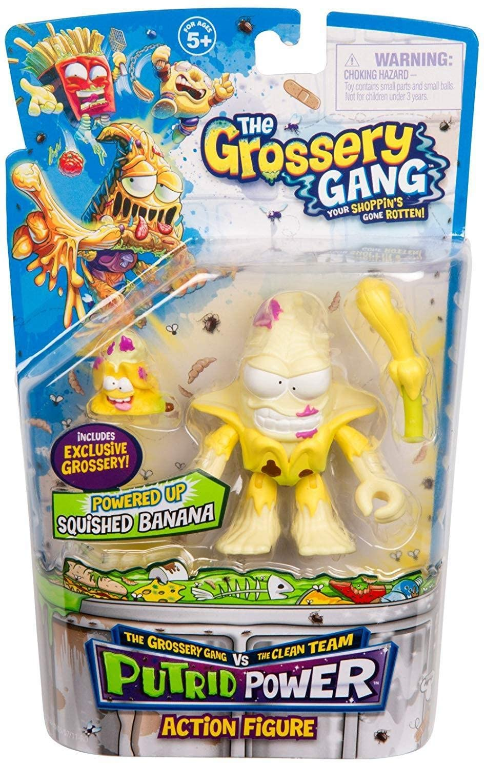Grossery Gang The Season 3 Squished Banana Oficial Licenciado