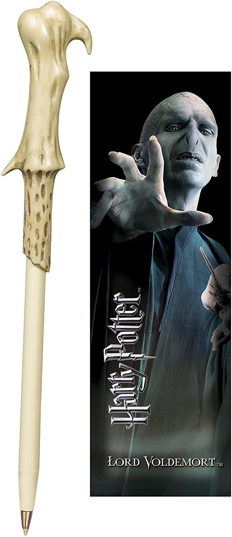 Harry Potter Voldemort Caneta Varinha e Marcador de LIvro Oficial Licenciado