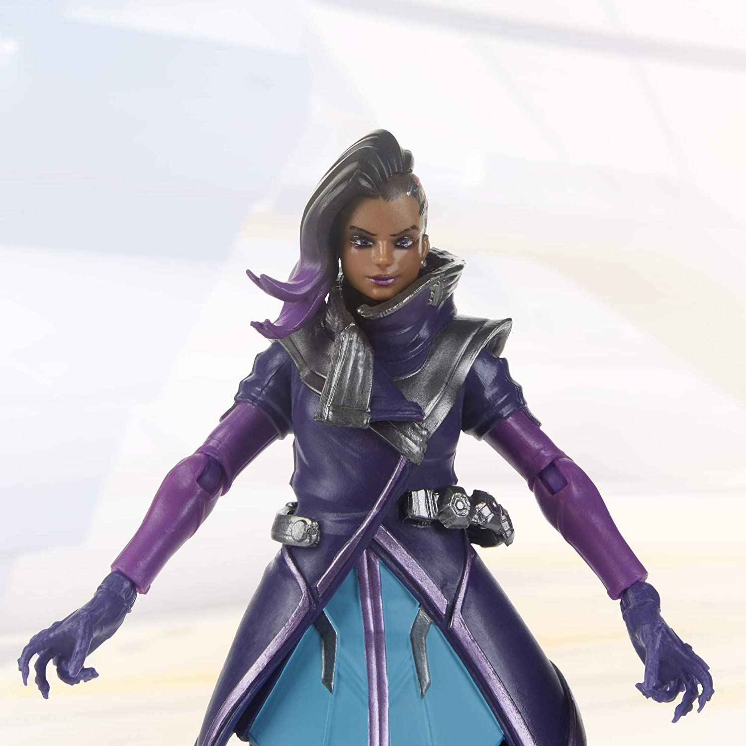 Hasbro Overwatch Ultimates Series Sombra Action Figure Oficial Licenciado