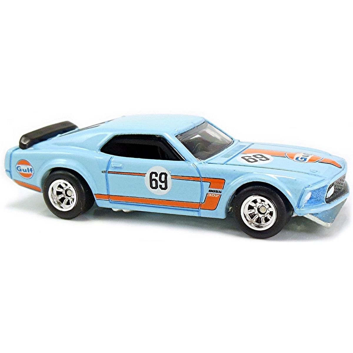 Hot Wheels - '69 Ford Mustang Boss - Car Culture Gulf