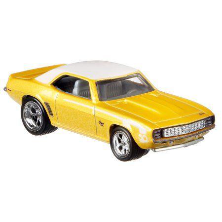 Hot Wheels Coleção 50th Favorites- 69 Camaro