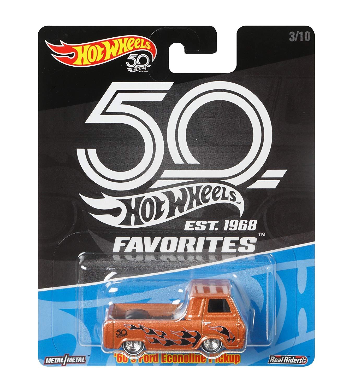 Hot Wheels Coleção 50th Favorites - Ford Econoline Pickup