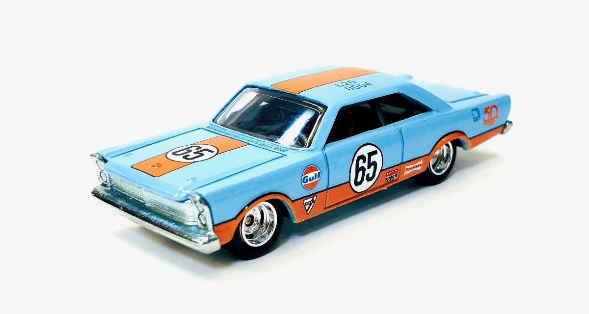 Hot Wheels Coleção 50th Favorites- Ford Galaxie