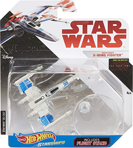 Hot Wheels Star Wars The Last Jedi Resistance X-Wing Fighter Starship