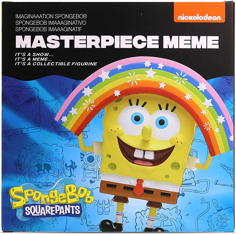 Imagination Bob Esponja Masterpiece Meme Oficial Licenciado