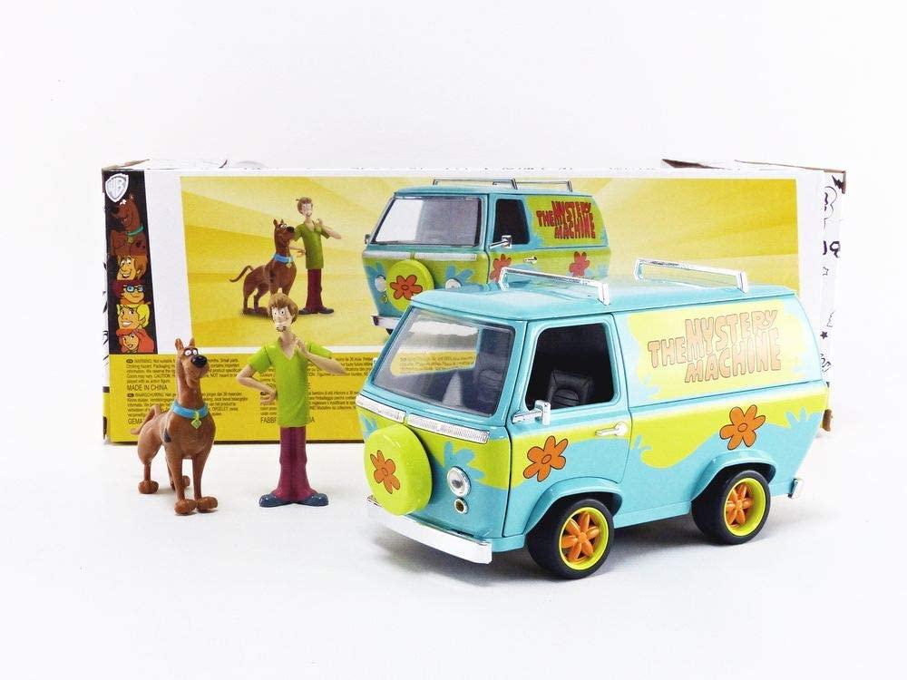 Jada 1:24 Diecast Mystery Machine with Scooby
