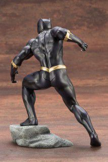 Kotobukiya ARTFX Avengers Series Black Panther Oficial Licenciado