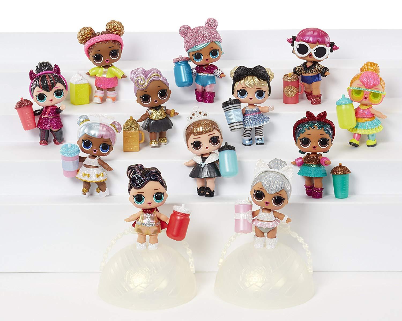 L.o.l. Surprise! Glam Glitter Series Doll Com 7 Surpresas (Original)