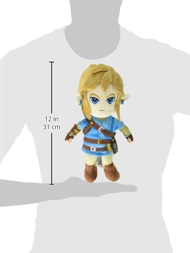 Little Buddy Pelúcia The Legend of Zelda Breath of The Wild Link Oficial