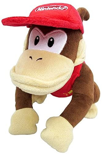 Little Buddy Super Mario All Star Collection Diddy Kong Oficial Licenciado
