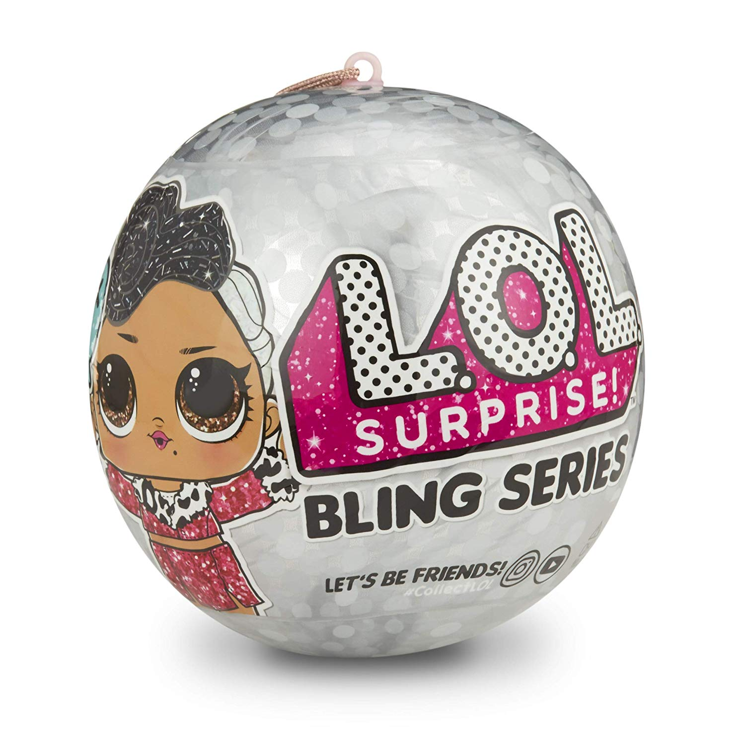 LOL Surprise! Série Bling com 7 surpresas Multicolor Original