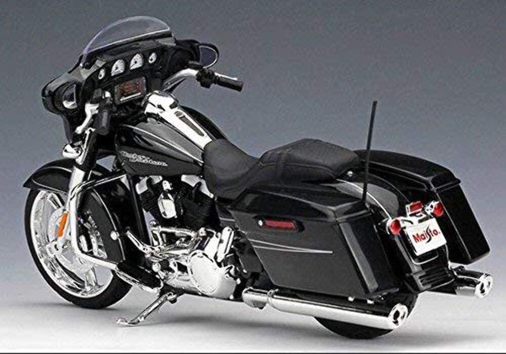 Maisto 2015 Harley Davidson Street Glide Motorcycle 1/12 Oficial Licenciado