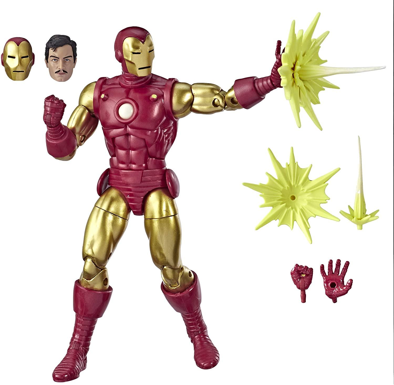 Marvel Comics 80th Anniversary Legends Series 6 Iron Man Oficial Licenciado