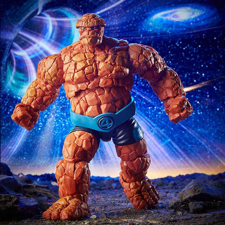 Marvel Legends Fantastic Four Thing Coisa Oficial Licenciado