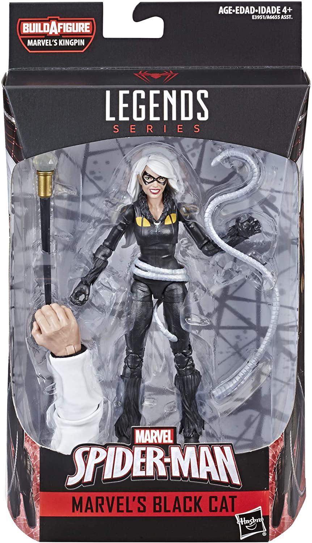 Marvel Legends Gata Negra Black Cat Oficial Licenciado