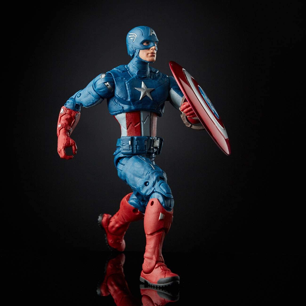 Marvel Legends Series Capitão América Oficial Licenciado