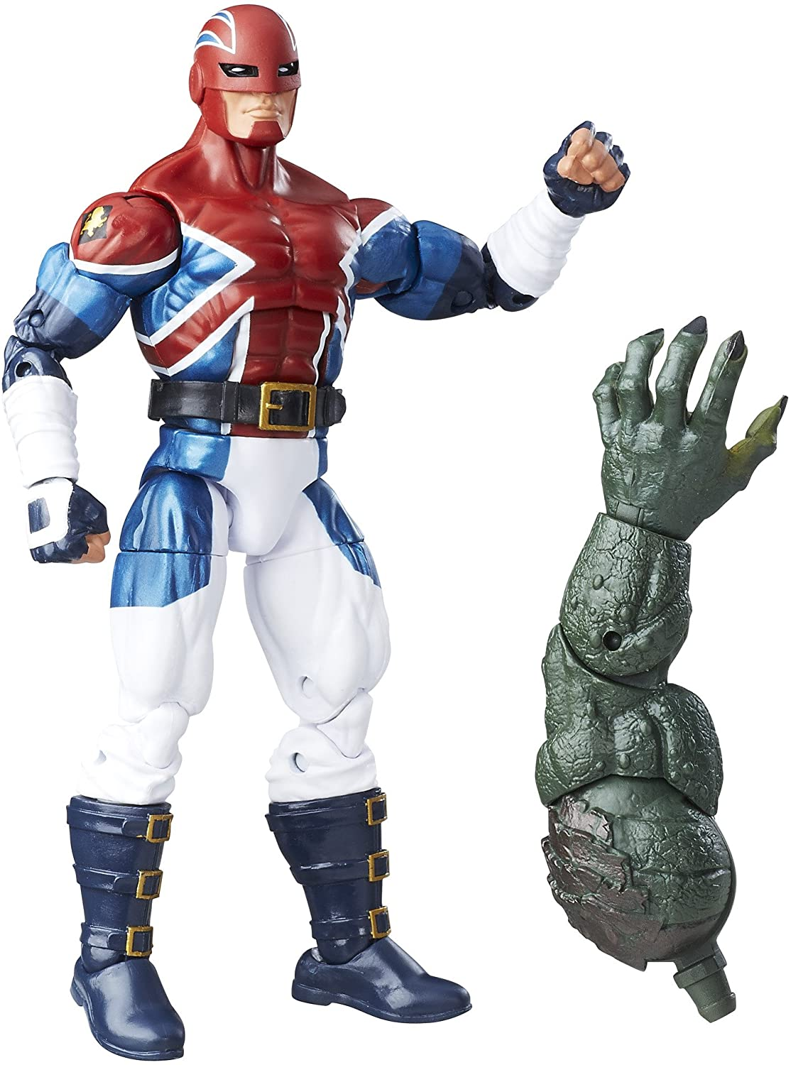 Marvel Legends Series Captain Britain - Capitão Bretanha Oficial Licenciado