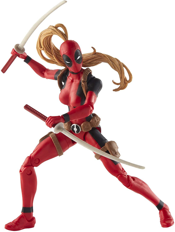 Marvel Legends Series Lady Deadpool Oficial Licenciado