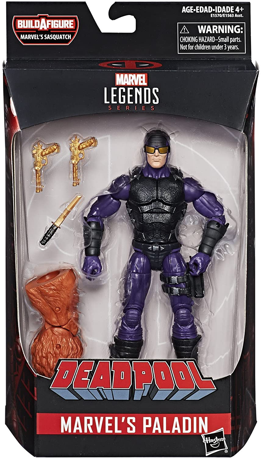Marvel Legends Series Marvel's Paladin Oficial Licenciado