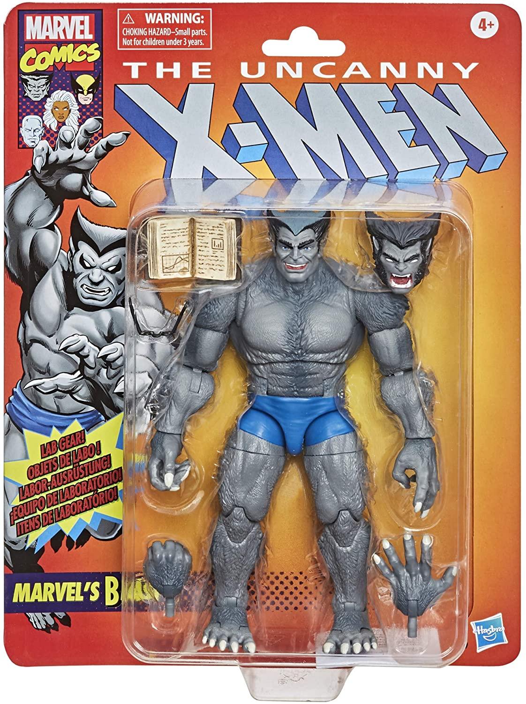 Marvel Legends Series X-men Comics Vintage Fera Oficial Licenciado