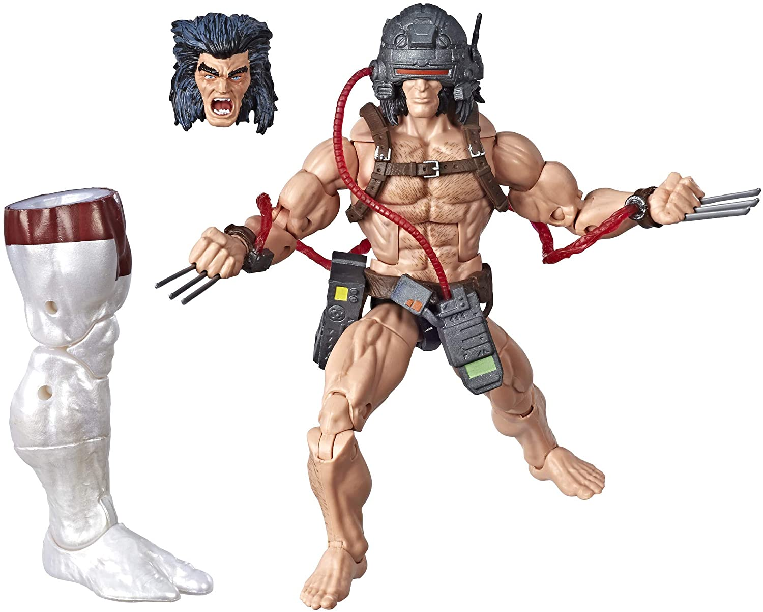 Marvel Legends X-Men Weapon X Com Caliban Oficial Licenciado
