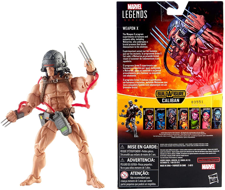 Marvel Legends X-Men Weapon X Com Caliban Oficial Licenciado