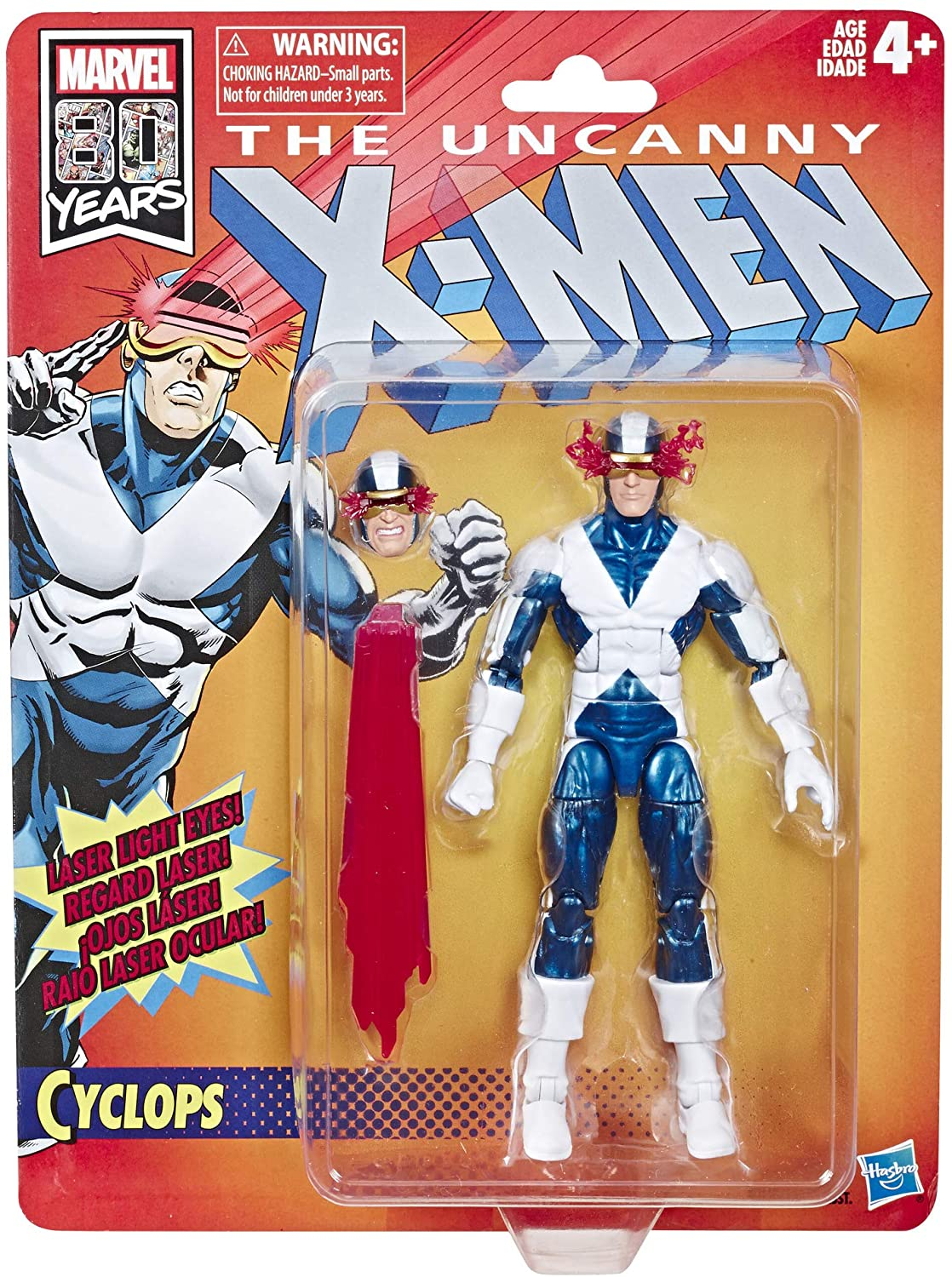 Marvel Retro Cyclops (X-Men) 80th Anniversary Oficial licenciado