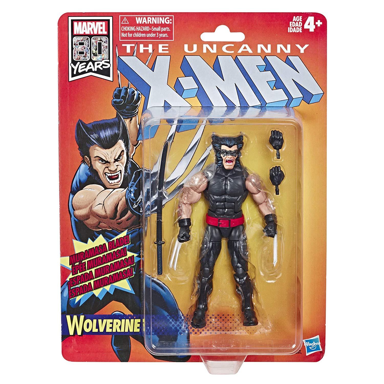 Marvel Retro Wolverine (X-Men) 80th Anniversary Oficial licenciado