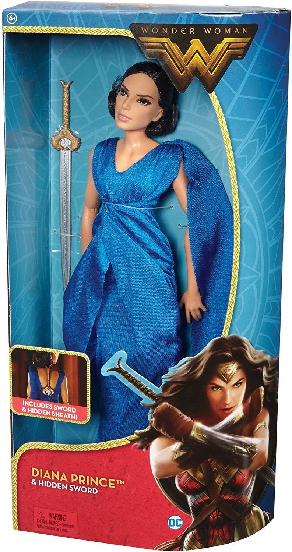Mattel DC Mulher Maravilha Diana Prince & Hidden Sword Oficial Licenciada