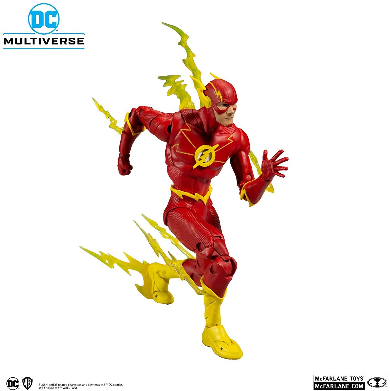 McFarlane DC Multiverse Action Figures  Wave 3  The Flash Oficial Licenciado