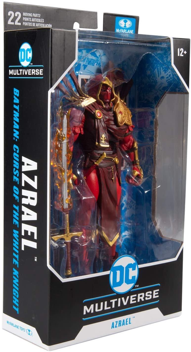 McFarlane Toys DC Multiverse Azrael Batman Curse of The White Knight Oficial