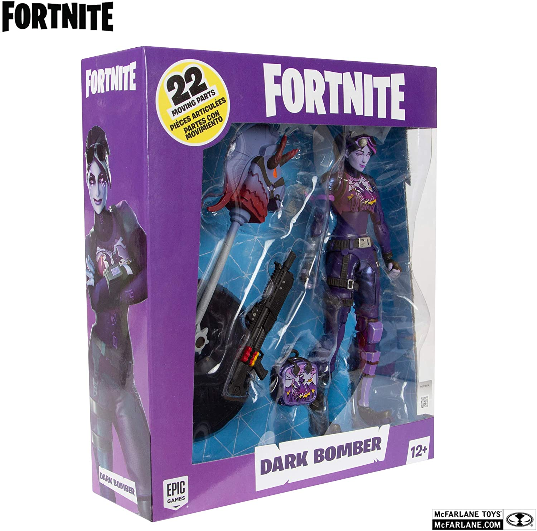 McFarlane Toys Fortnite Dark Bomber Premium Oficial Licenciado