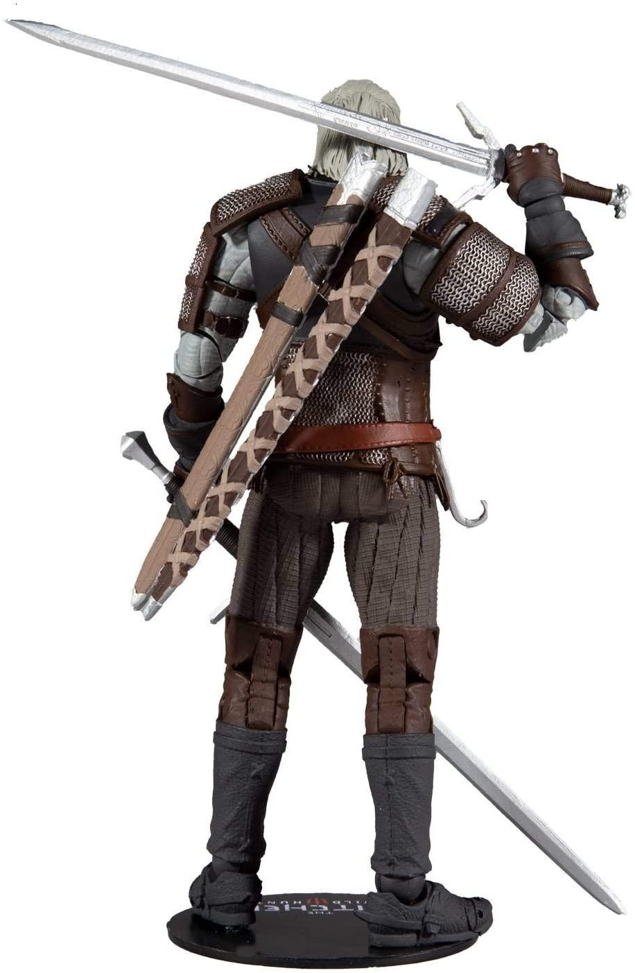 McFarlane The Witcher Gaming Figures 1 Geralt of Rivia Oficial Licenciado