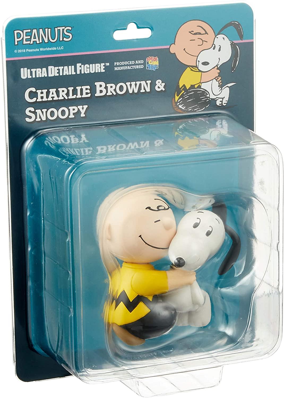 Medicom Peanuts Charlie Brown & Snoopy Oficial Licenciado