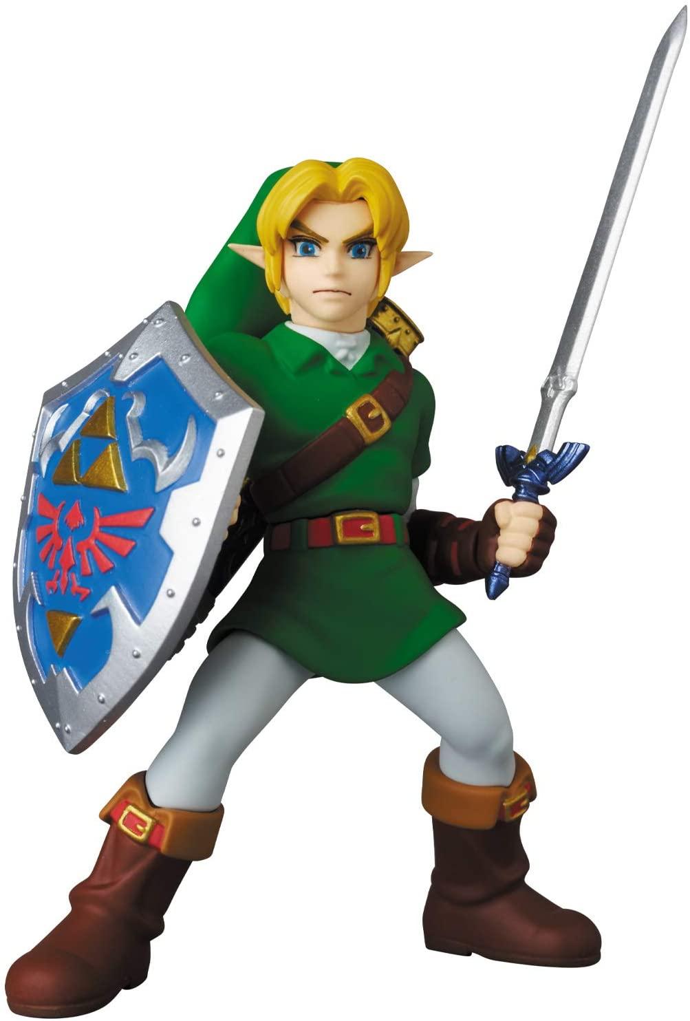 Medicom UDF The Legend of Zelda Link Ocarina of Time 9cm Oficial Licenciado