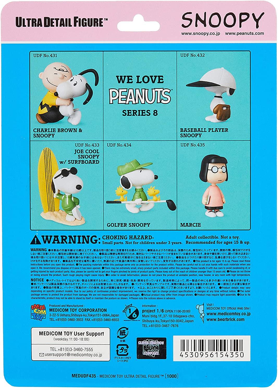 Medicom UDF Ultra Detalhe Figura Peanuts Série Marcy 9 cm Oficial