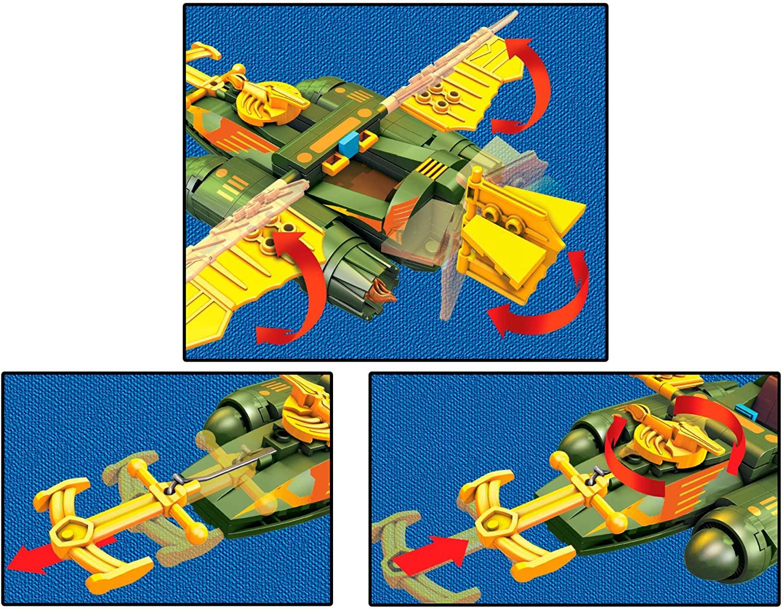 Mega Construx Probuilder Veículo Wind Raider icônico montável Oficial Licenciado