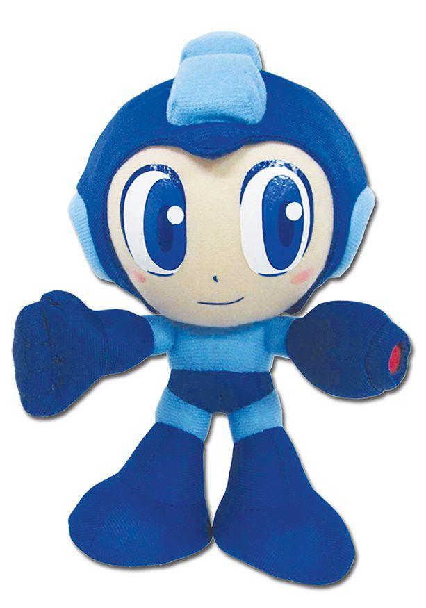 Mega Man Pelúcia 20cm Oficial Licenciado