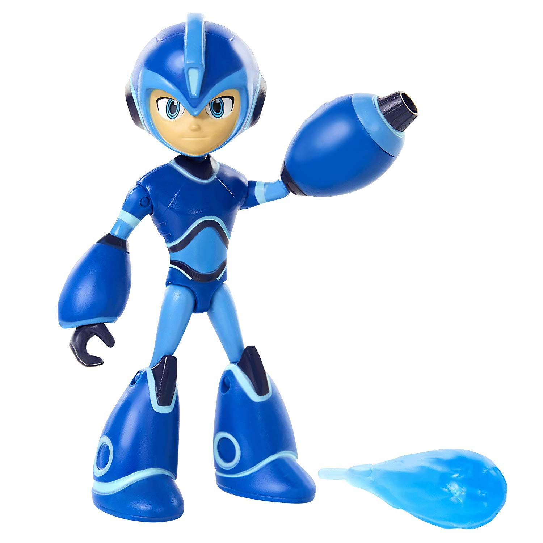 Mega Man Totalmente carregado Articulado com Mega Buster Removível